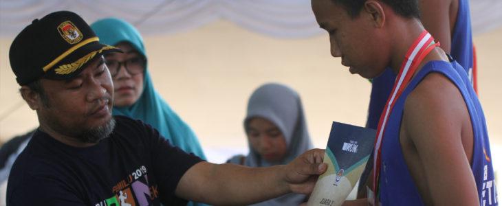 kpu lombok-timur, pemilu run,