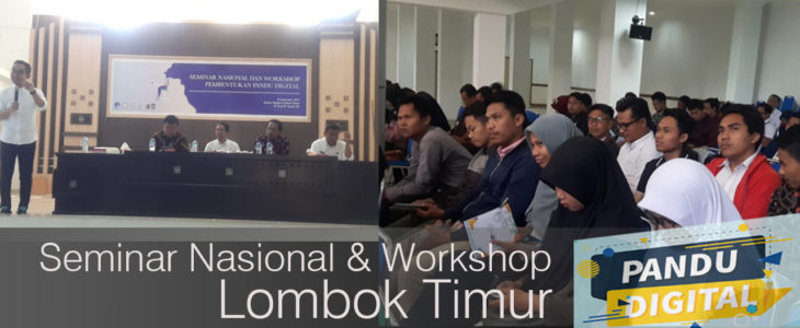 pandu digital, kemenkominfo, lombok timur,