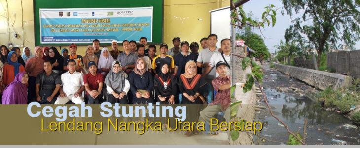 Stunting di lombok timur, dinas perkim, konsepsi, lendang nangka utara