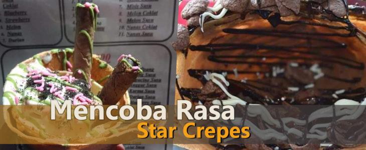 star crepes, peluang usaha, produk kuliner, lombok timur