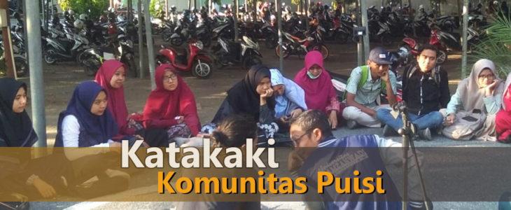 komunitas puisi, katakaki, baca puisi, pulau lombok, pentas seni