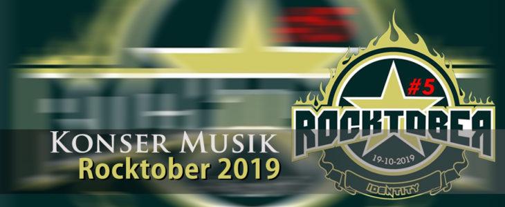 Konser musik, rocktober, lombok timur, 2019