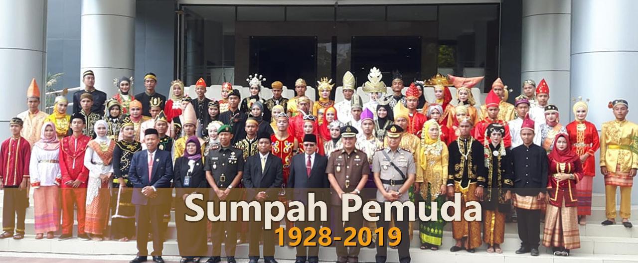 peringatan hari sumpah pemuda ke 91 di lombok timur