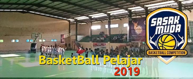 Event turnamen basketball sasak muda cup tingkat pelajar 2019
