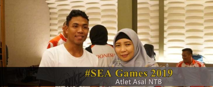 atlet sea games asal ntb, wagub siti rohmi jalilah 2019