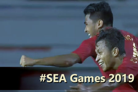 skor 2-0 indonesia vs singapura, 2019, sea games filipina