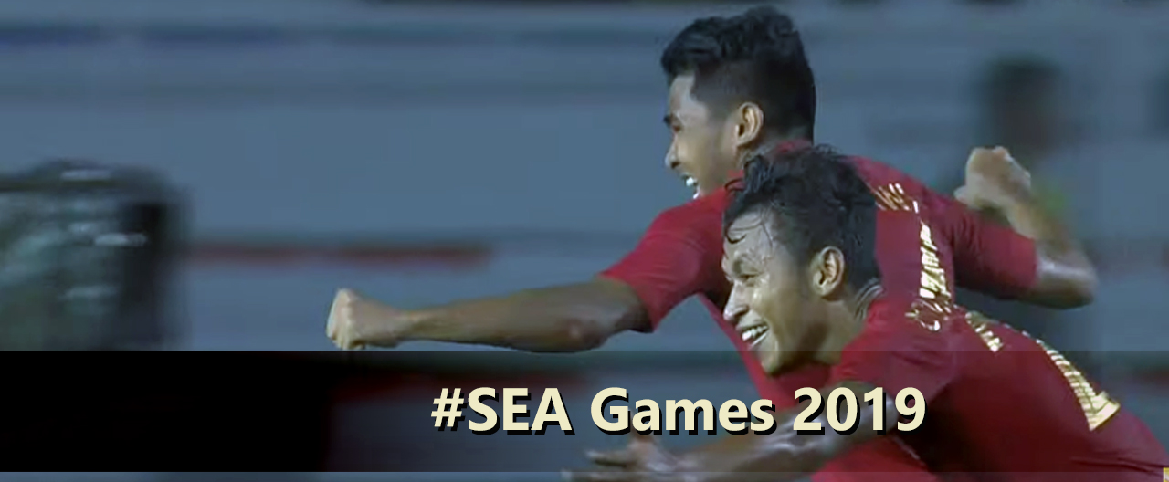 skor 2-0 indonesia vs singapura, 2019, sea games filipina
