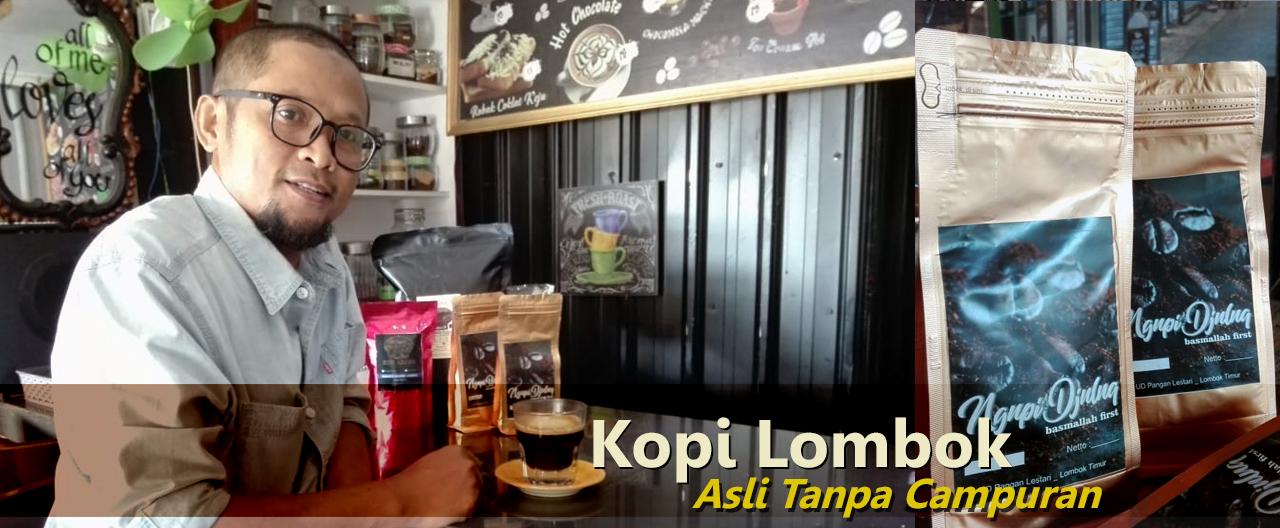 Ngupi Djuluq, Kemasan Kopi Robusta Asli dari Gumi Lombok