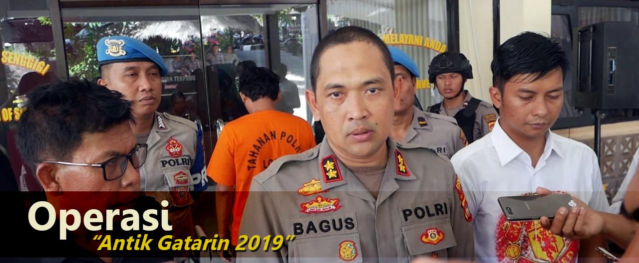 Razia 14 Hari di Lombok Barat, Polisi Tetapkan 5 Tersangka