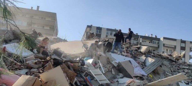 Gempa berkekuatan 7,0 SR melanda kota Izmir, Turki