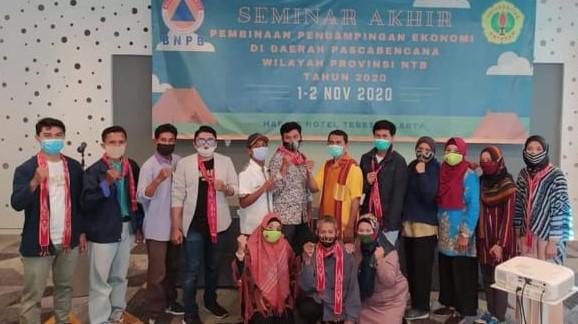 Pengusaha Kopi Sembalun Ikuti Seminar Akhir BNPB