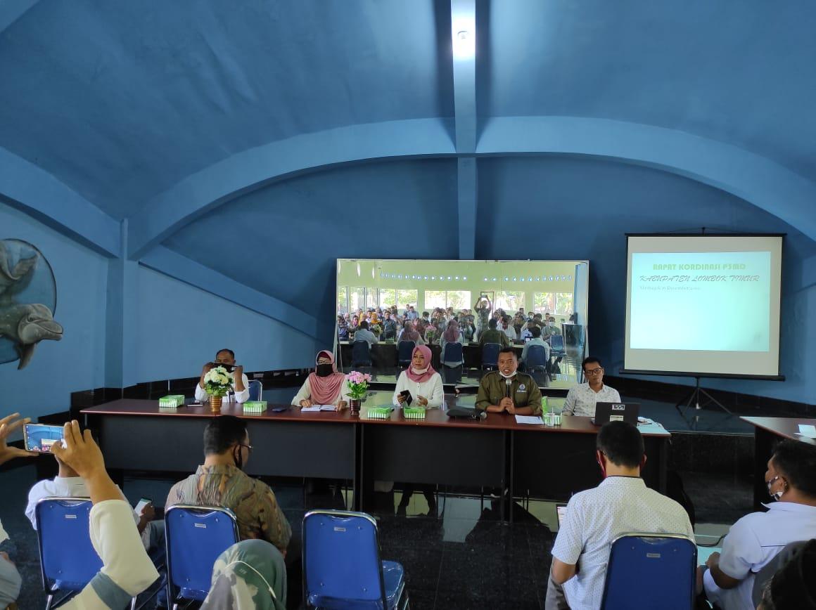 Pendamping desa di lombok timur, p3md, dpmd lotim, rakor 2020