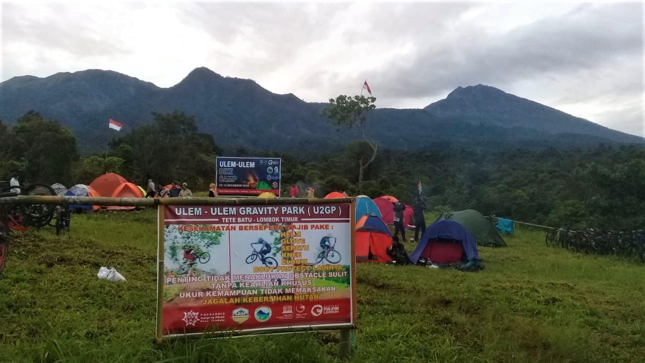 Bike Camp, Pokdarwis Kampung Wisata Tetebatu Gelar Festival Geopark Rinjani