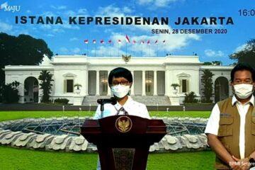 covid 19 di indonesia, pemerintah tutup sementara masuknya wna