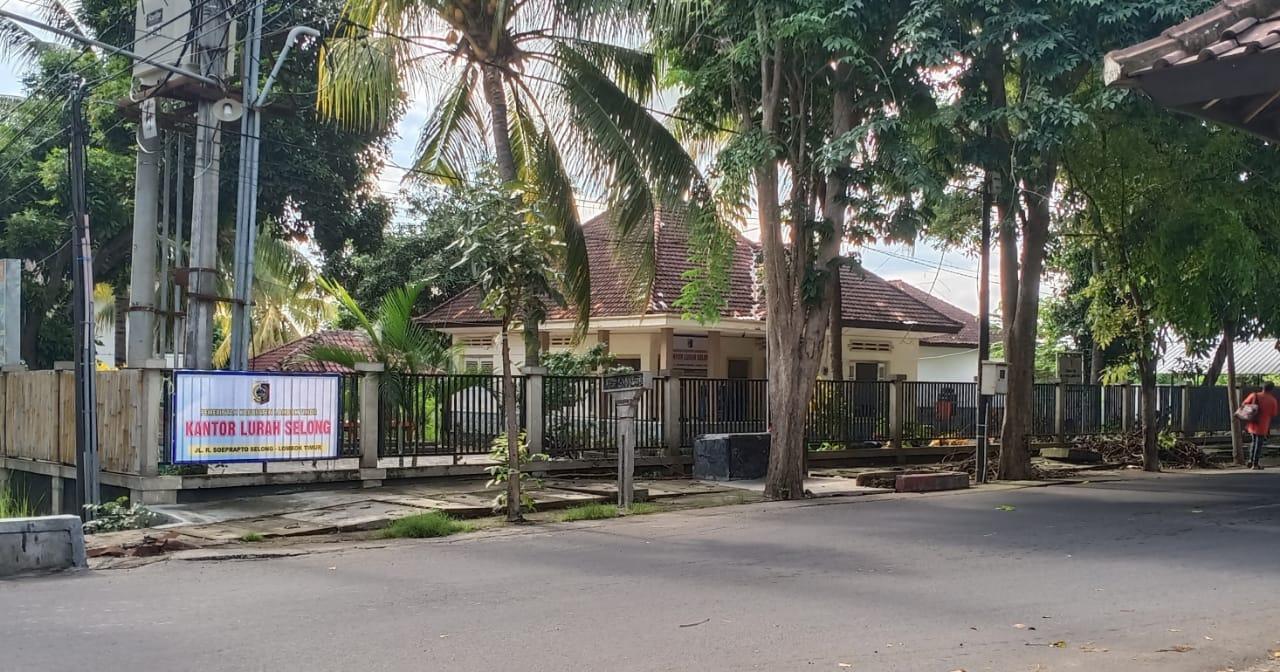 lokasi kantor lurah selong, kecamatan selong, lombok timur