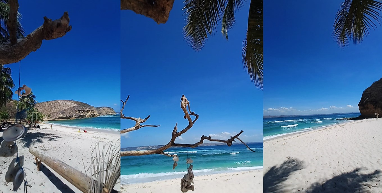 pantai surga di lombok, ntb, wisata pantai