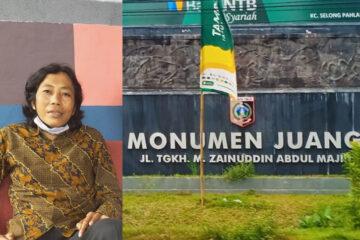 gedung juang pemuda dan mahasiswa lombok timur, polemik alih fungsi gedung pemuda menjadi kantor bank ntb syariah