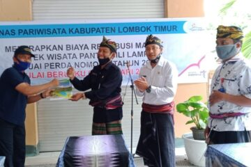 dinas pariwisata lombok timur, obyek wisata pulau lampu, sambelia
