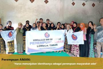 Pengurus Perempuan AMAN Gelar Konsolidasi dan Sosialisasi Kader