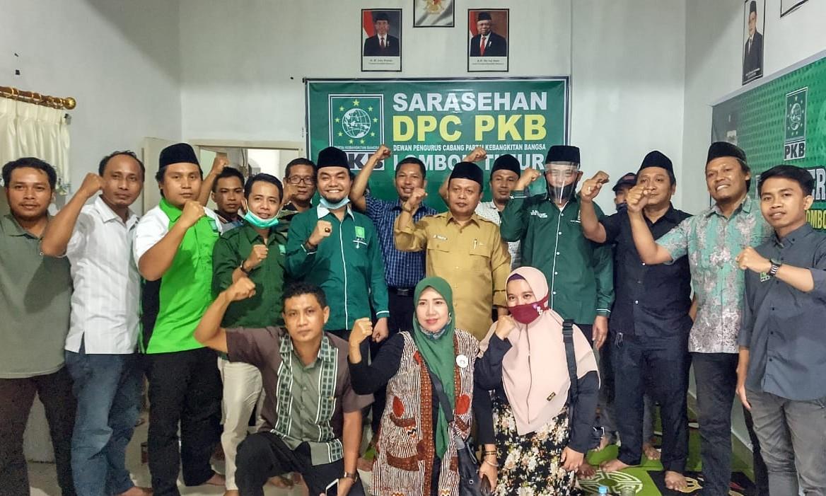 pkb lombok timur gelar monev tahun 2021