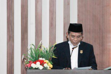 dprd lombok timur, gelar sidang paripurna laporan reses tahun 2021