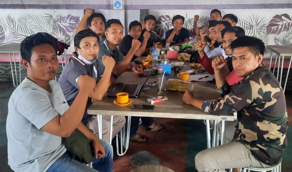 pb ansor lombok timur, kader nu lombok timur