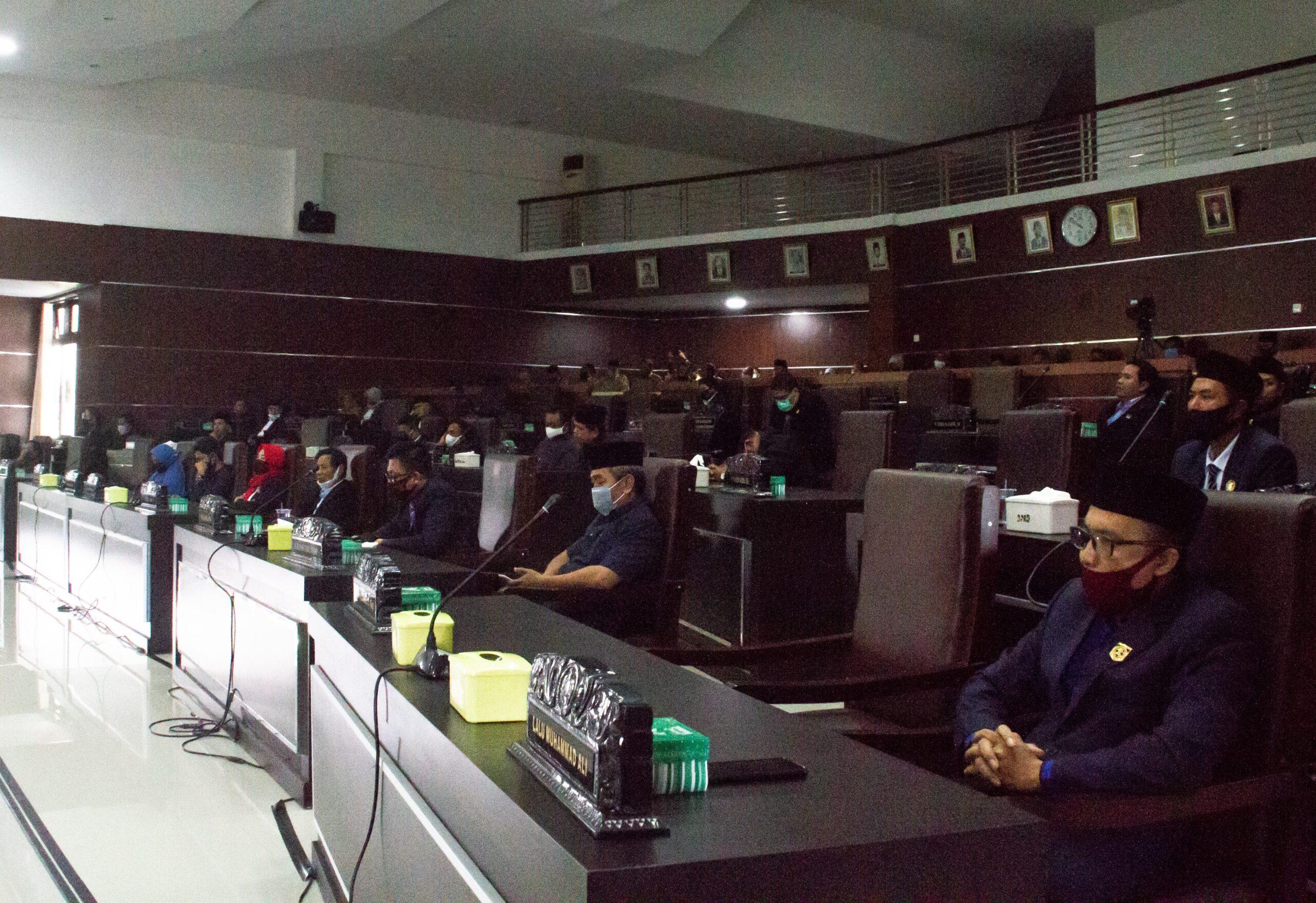 21 ranperda dprd dan pemerintah daerah lombok timur tahun 2021