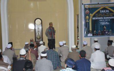 Kapolres Lotim Apresiasi Jamaah Masjid An-Nur Pohgading