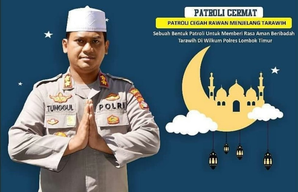 Polres Lotim lakukan Program Takjil Sapa Ramadhan