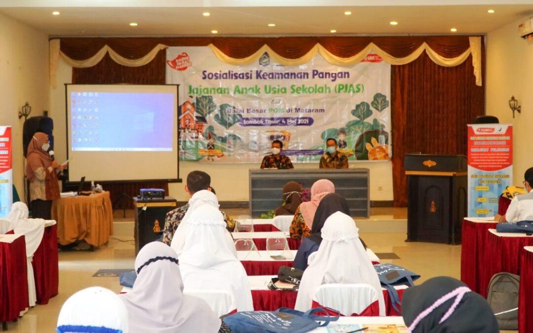 BBPOM di Mataram Gelar Sosialisasi Konsumsi Pangan Aman Dan Sehat di Lombok Timur