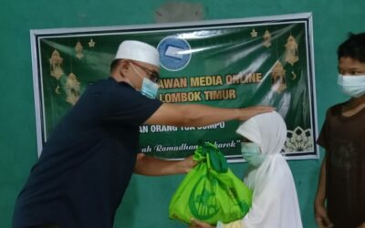 FWMO Lombok Timur Berikan Santunan Kepada Yatim dan Lansia