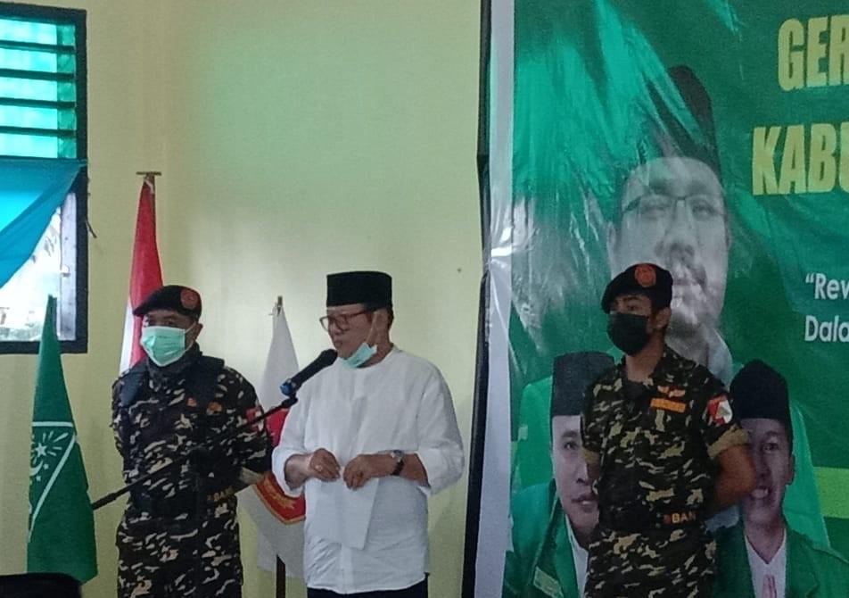 Wakil Bupati Buka PKD Ansor Lombok Timur