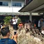 Sedang Hearing, Kantor Desa Sukadana Disegel