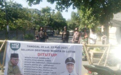 Kapolsek Labuhan Haji Tutup Tempat Wisata Untuk Sementara