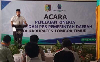 Bupati Lombok Timur Sambut Tim Penilai Kinerja PTSP dan PPB