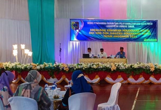 DPMPTSP Lombok Timur Gelar Sosialisasi Kebijakan Penanaman Modal