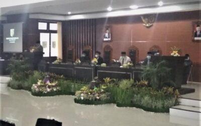 DPRD Lombok Timur Gelar Sidang Paripurna XI Pembahasan 2 Raperda