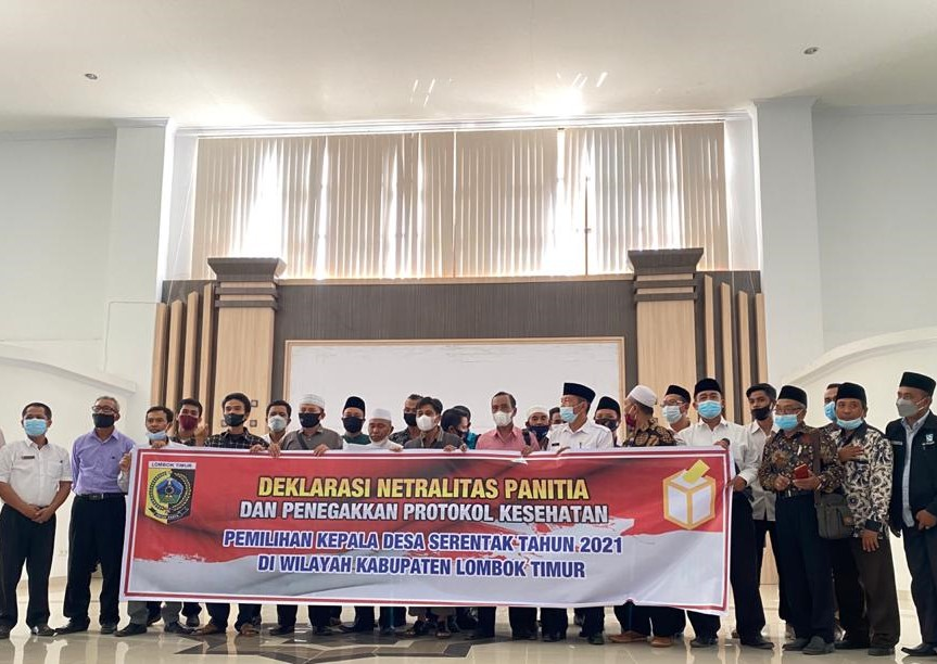 Deklarasi Netralitas Panitia Pilkades Serentak Tahun 2021