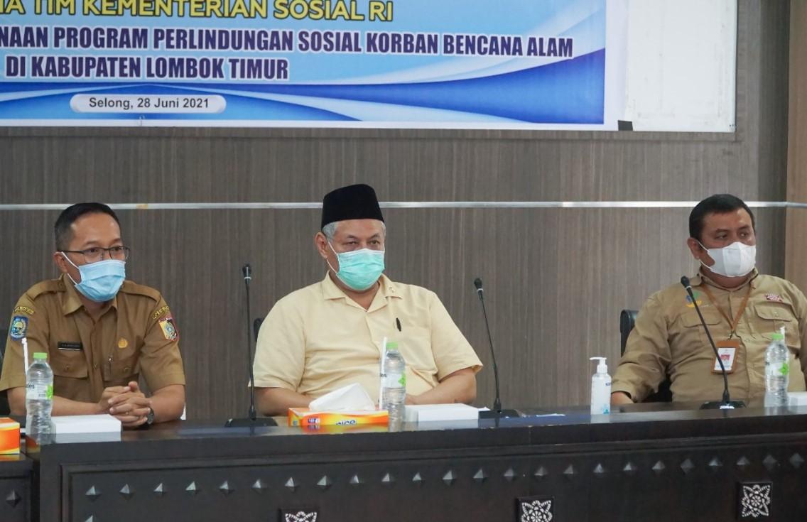Evaluasi Bantuan Korban Bencana Alam, Komisi VIII DPR RI Kunjungan Kerja ke Lombok Timur
