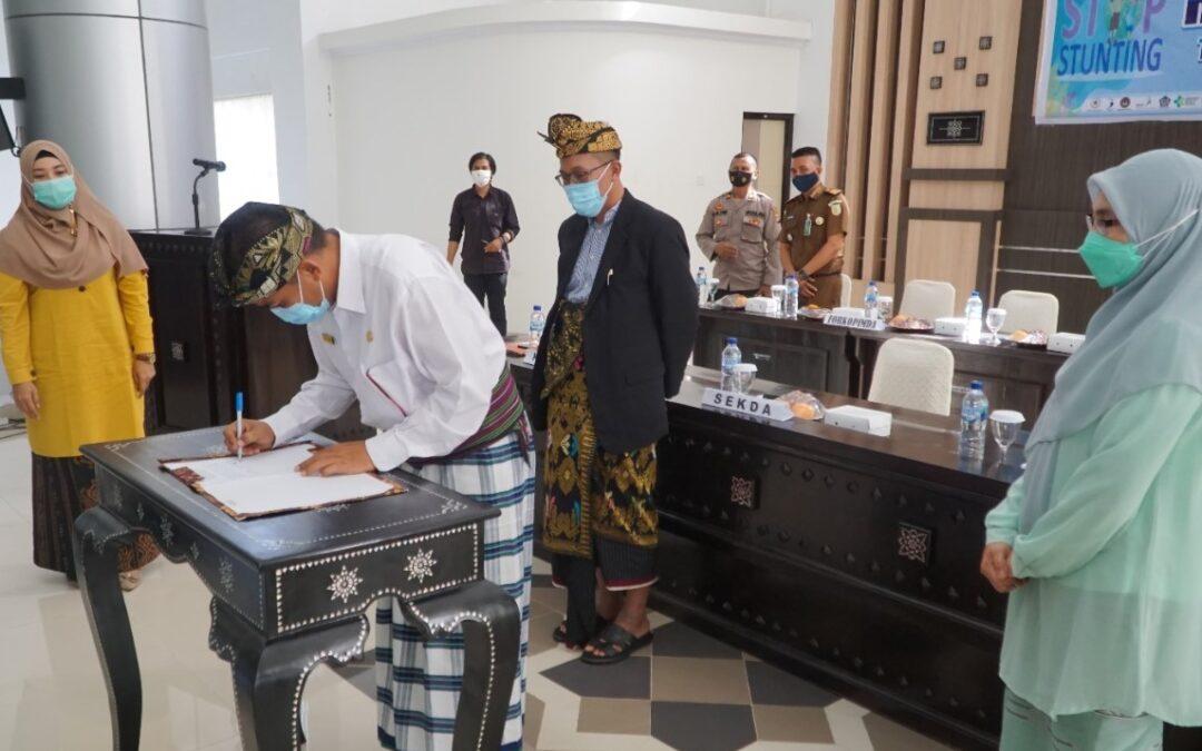 Lombok Timur Ditetapkan Sebagai Lokasi Fokus Percepatan Penurunan Stunting