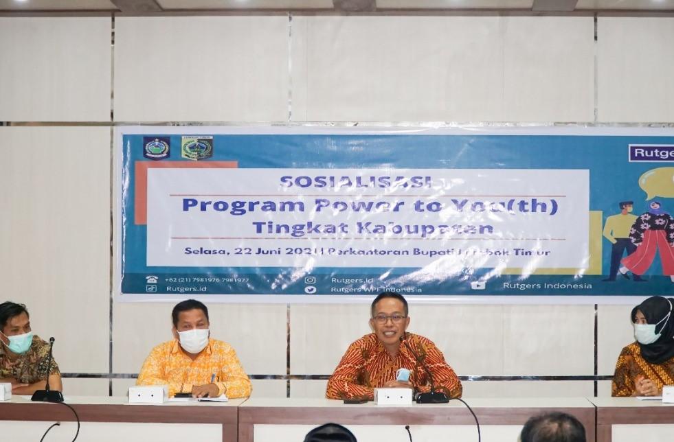 Pemda Lombok Timur Dukung Program Power to You(th)