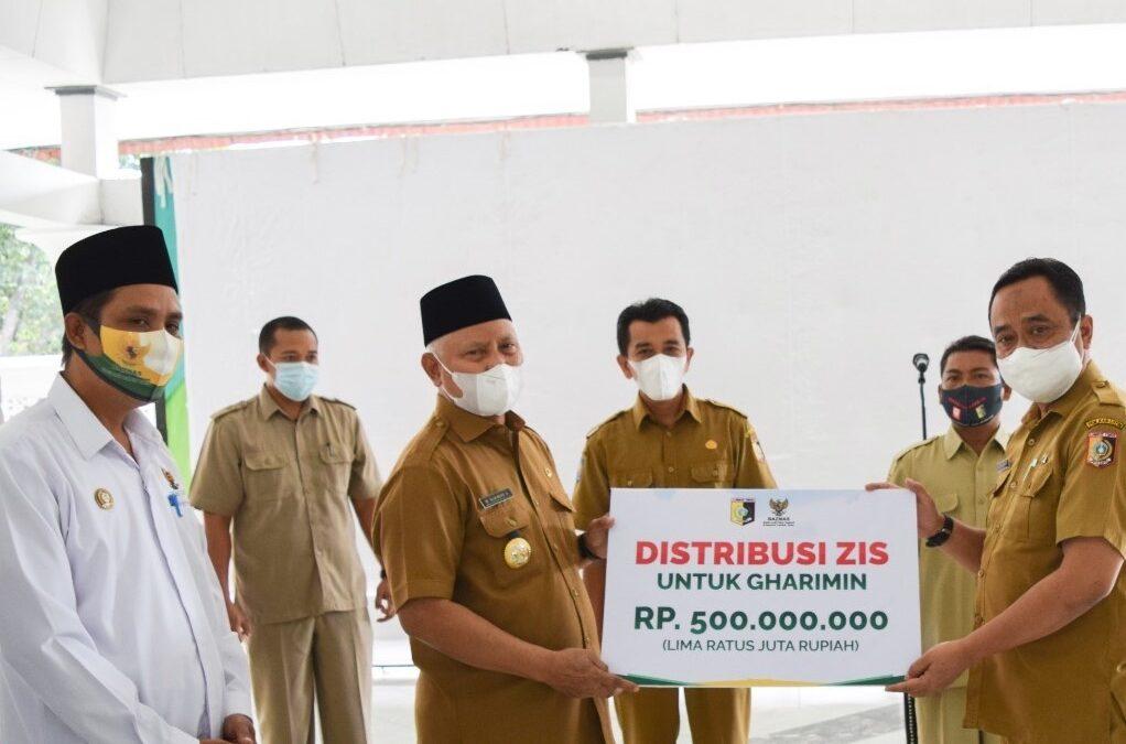 Baznas Lombok Timur, Serahkan ZIS Kepada Gharimin