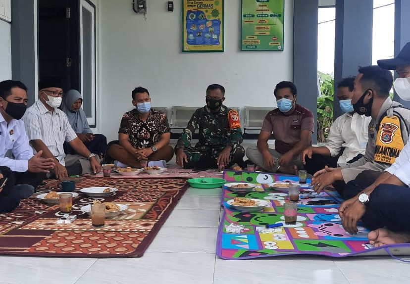 Tiga Pilar Kamtibmas Desa Kalianyar Wujudkan Posko PPKM Berbasis RT