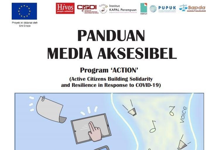 SAPDA Luncurkan Buku panduan Media Aksesibel