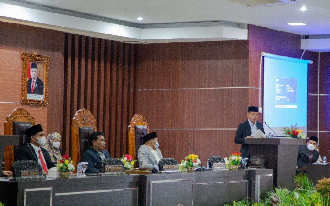 DPRD Lombok Timur Setujui Ranperda APBD Perubahan Tahun 2021