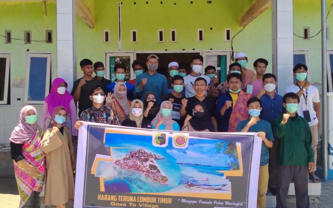 Karang Taruna Lombok Timur, Gelar Workshop Literasi Digital Di Pulau Maringkik