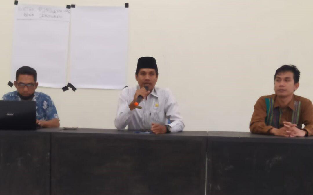 Maksimalkan Sosialisasi Prokes, Pemdes Jerowaru Gandeng Pimpinan Lembaga