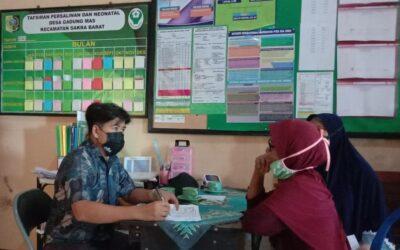 Masyarakat Desa Gadung Mas Ikuti Vaksinasi Serentak Covid-19